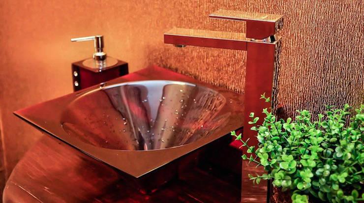 Lavabo: Banheiros modernos por Giovana Lumertz Design de Interiores