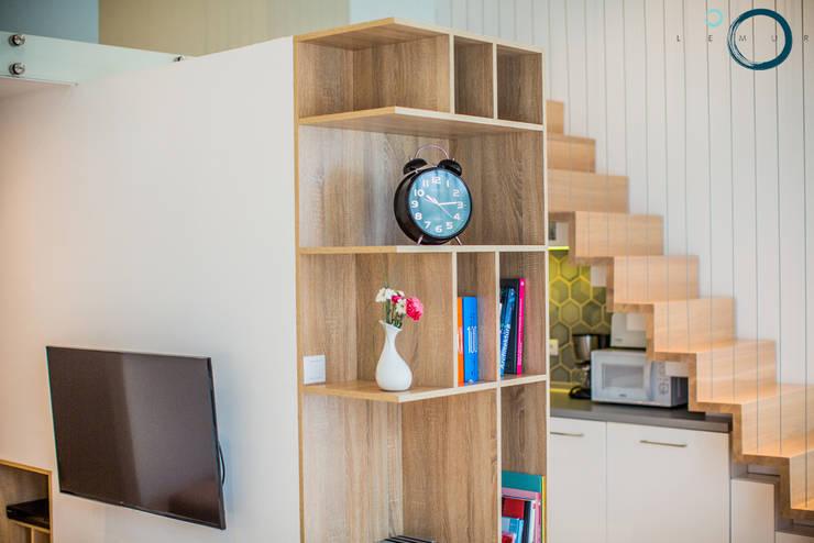 Moderne Wohnzimmer von LEMUR Architekci Modern