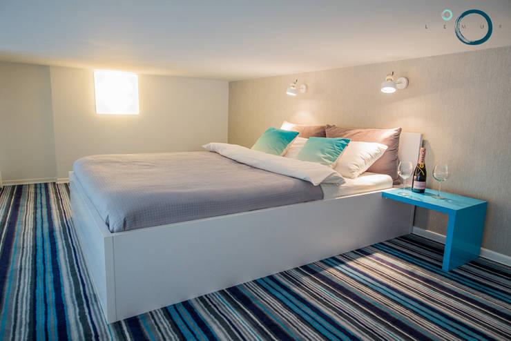 غرفة نوم تنفيذ LEMUR Architekci