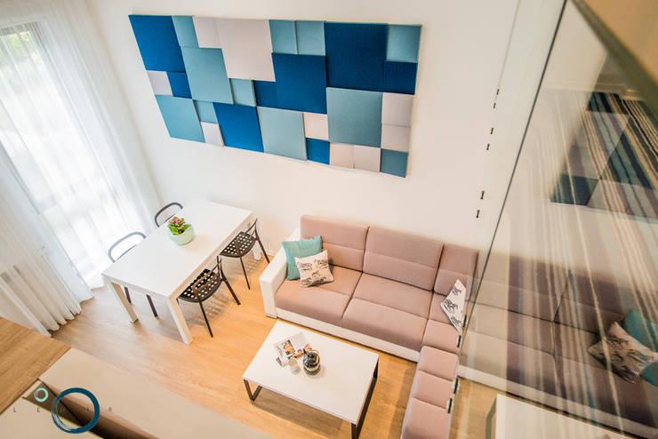 غرفة المعيشة تنفيذ LEMUR Architekci