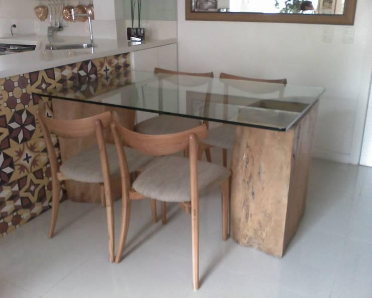 Sala de jantar: Salas de jantar modernas por HL Arquitetura & Design