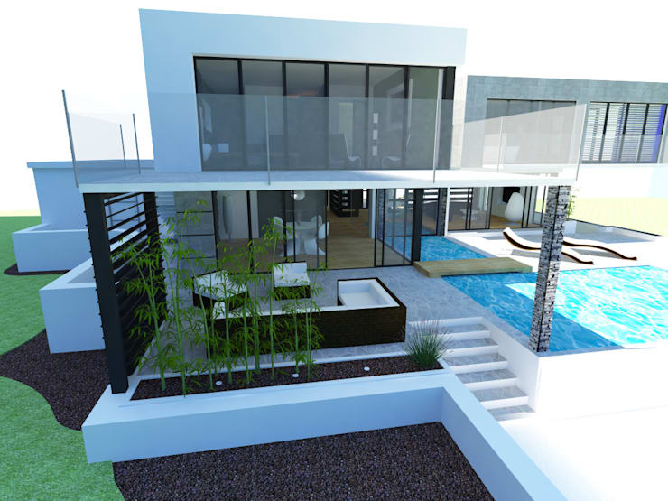 modern Houses by AS-Arquidesign