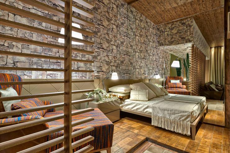Cuartos de estilo  por Luciana Savassi Guimarães arquitetura&interiores
