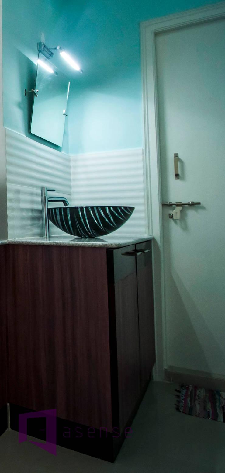 Washbasin Unit: modern Bathroom by Asense