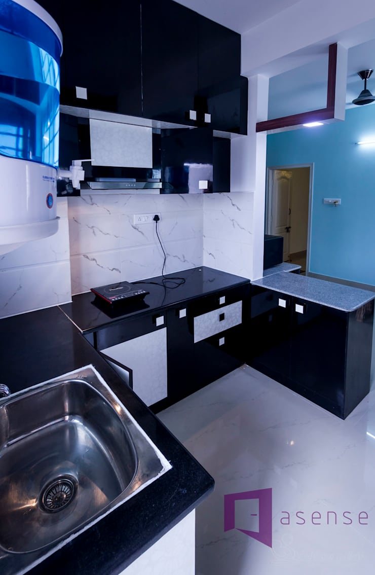 Modular Kitchen: modern Kitchen by Asense