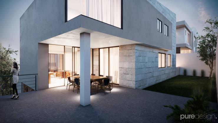 Cañada 31: Casas de estilo  por Pure Design