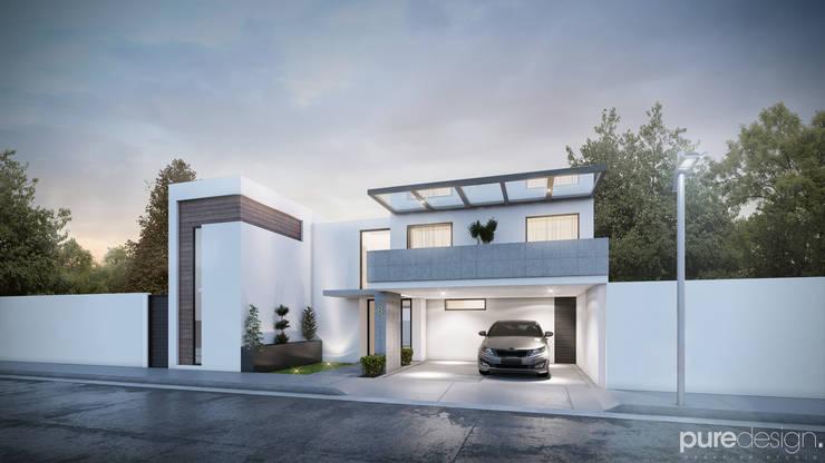Santerra Residencial: Casas de estilo  por Pure Design, Minimalista