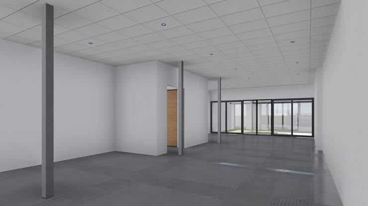 Plante Libre de local oficinas: Estudios y oficinas de estilo  por ARBOL Arquitectos