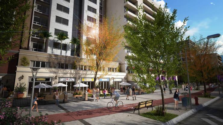 Desarrollo de proyectos : Casas de estilo  por Ambiente de diseño, Moderno