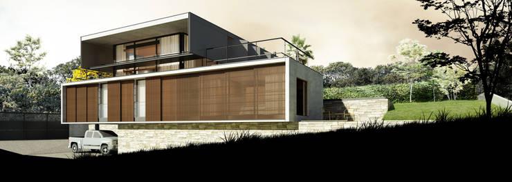 Houses by Zanatta Figueiredo Arquitetos Associados