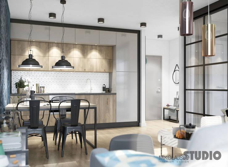 Kuchnia W Stylu Loft : styl , w kategorii Kuchnia zaprojektowany przez MIKOŁAJSKAstudio