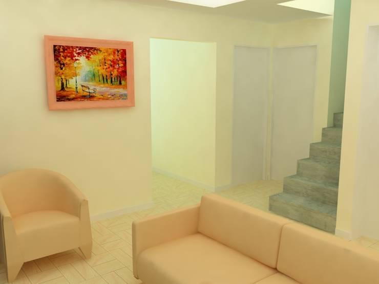 Estar RO.18:  de estilo  por - Arq. Lucia Garay - Arquitectura y Diseño - ,