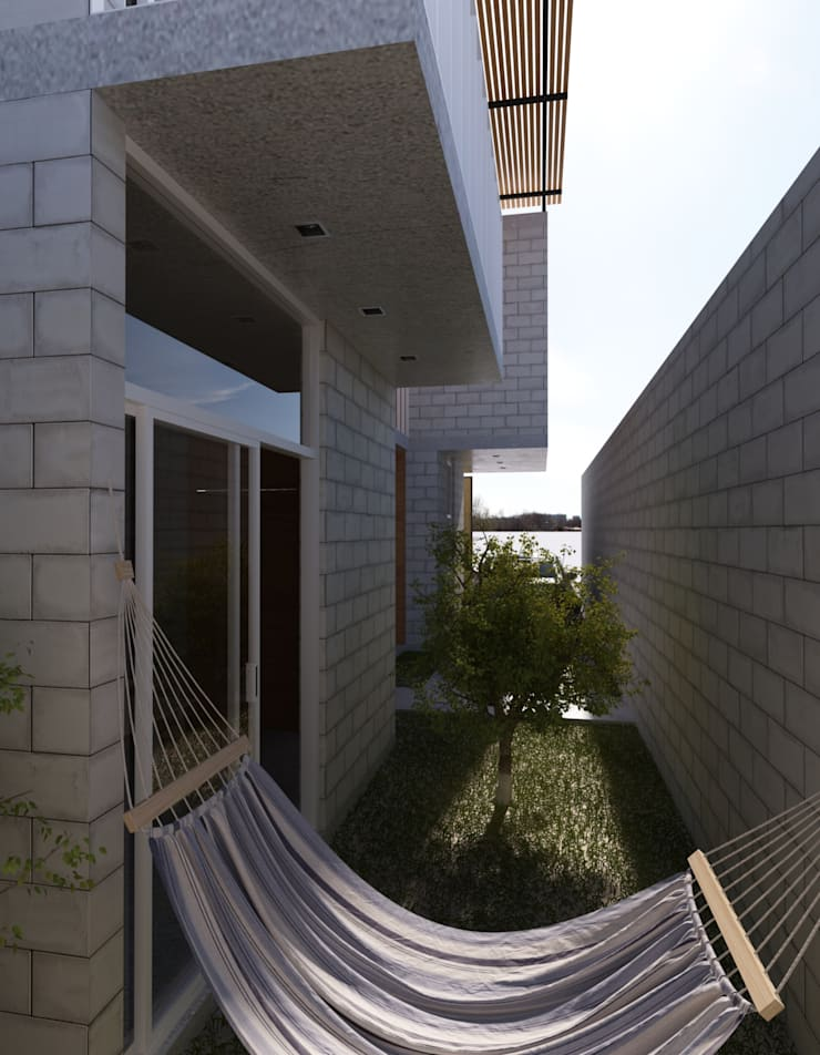 CASA ISMAEL: Casas de estilo  por Estudio Tresuncuarto, Moderno