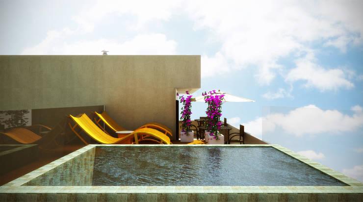 Piscinas de estilo  por SCK Arquitetos