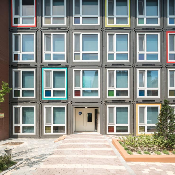 Lieux d'événements modernes par 큐브디자인 건축사사무소 Moderne
