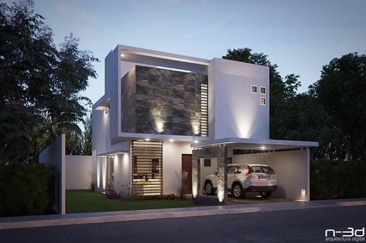 20 fachadas de casas modernas fabulosas for Interiores de casas minimalistas modernas