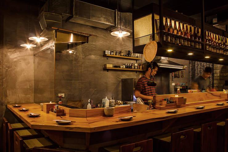 木子-食堂‧酒屋:  酒吧&夜店 by 七輪空間設計