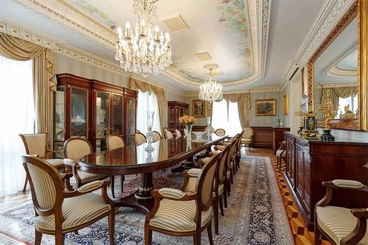 Inan AYDOGAN /IA  Interior Design Office – NG PALACE:  tarz Yemek Odası