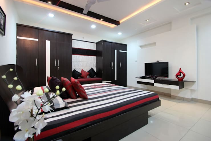 modern Bedroom by The Inner Story