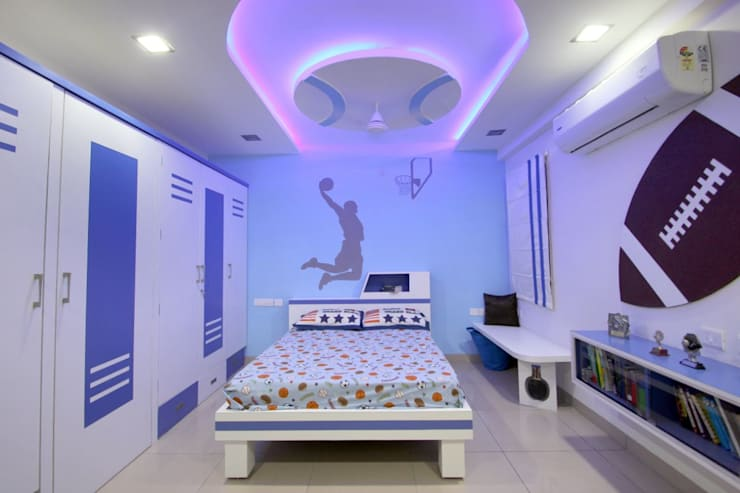 modern Nursery/kid's room by The Inner Story