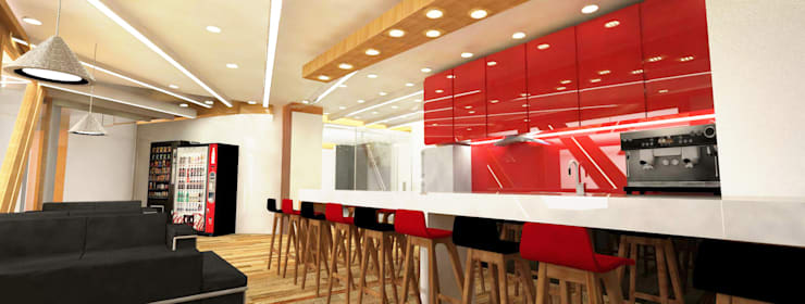 Pantry and Kitchen:  Kitchen by Much Creative Communication Limited,