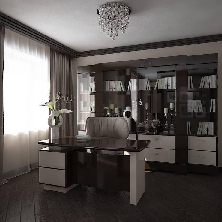 Миланские мечты: Рабочие кабинеты в . Автор – Дизайн бюро Оксаны Моссур