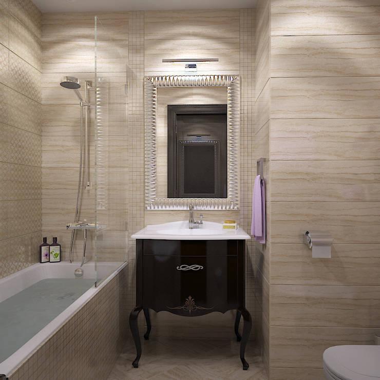 Миланские мечты: Ванные комнаты в . Автор – Дизайн бюро Оксаны Моссур