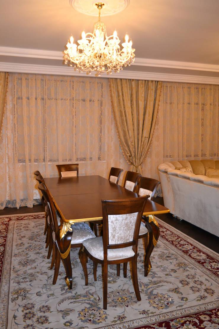 Дизайн интерьера частного дома: Столовые комнаты в . Автор – Дизайн бюро Оксаны Моссур