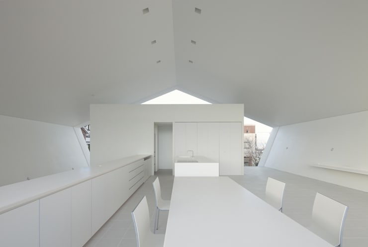 Livings de estilo  por 森裕建築設計事務所 / Mori Architect Office