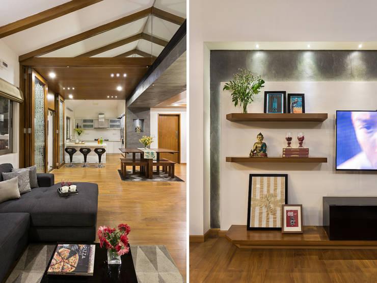 Kalyan Penthouse / Apartment Interiors:  Kitchen by Source Architecture