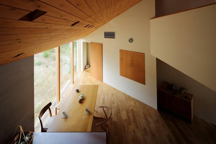 Projekty,  Jadalnia zaprojektowane przez 藤原・室 建築設計事務所