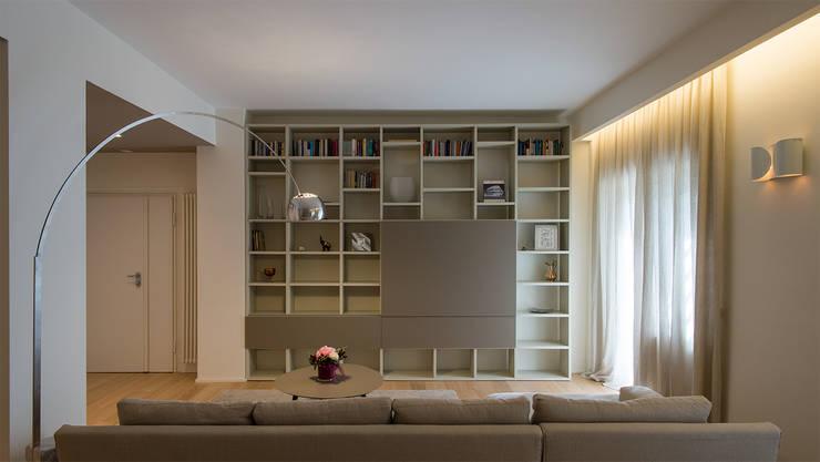 GN İÇ MİMARLIK OFİSİ – İstanbul ev dekorasyonumuz :  tarz Oturma Odası,