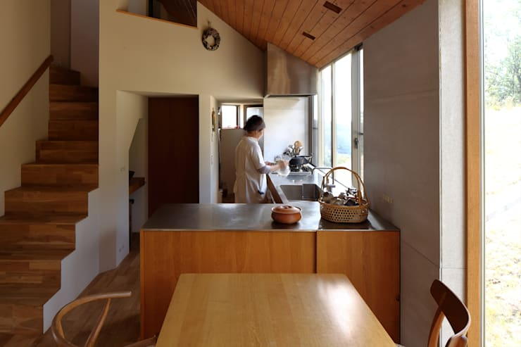 Projekty,  Kuchnia zaprojektowane przez 藤原・室 建築設計事務所