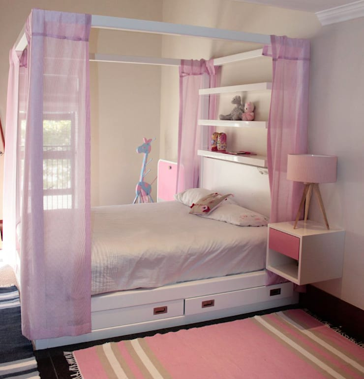 Princess Bed:  Bedroom by Covet Design