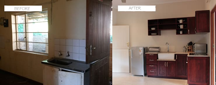Before & After: classic Kitchen by Covet Design