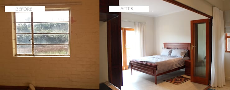 Before & After: classic Bedroom by Covet Design