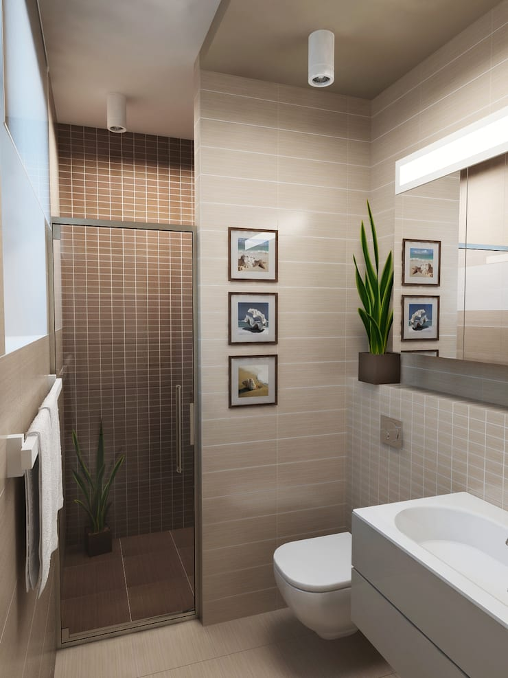 WC: Moderne Badezimmer Von NK Line I Natascha Kuzmenko I Modernes Interior  Design