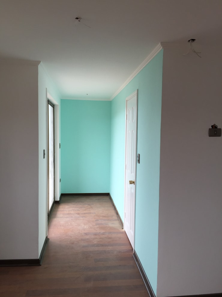 Casa H-N: Dormitorios de estilo moderno por Rodrigo Chávez Arquitecto