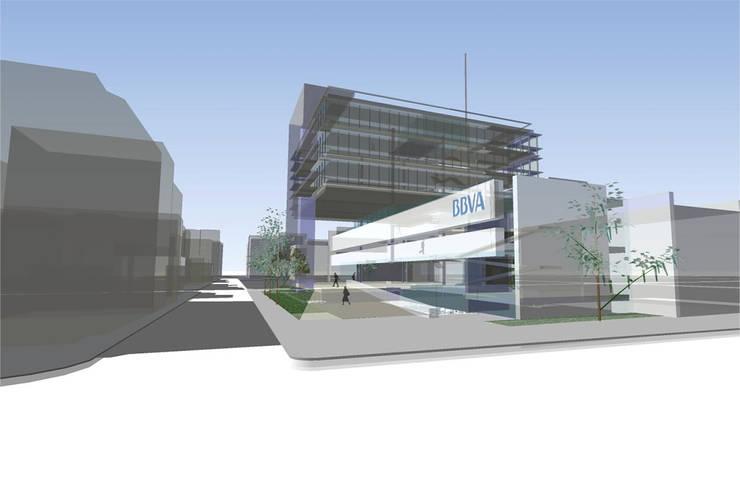 Centro Hipotecario BBVA:  de estilo  por MRV ARQUITECTOS