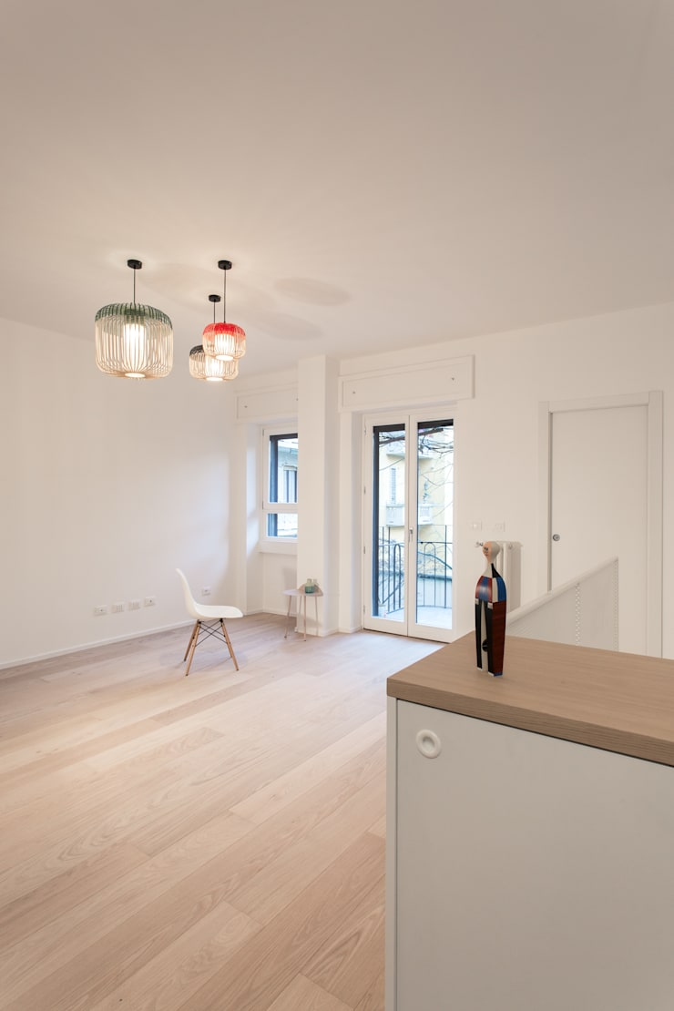 Living room by PLUS ULTRA studio