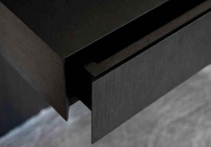 Detail lade:  Studeerkamer/kantoor door Vonder, Modern Hout Hout