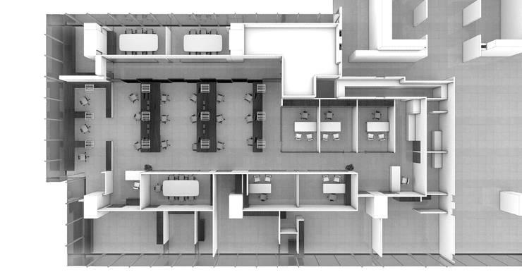 Офисы и магазины в . Автор – gOO Arquitectos, Минимализм