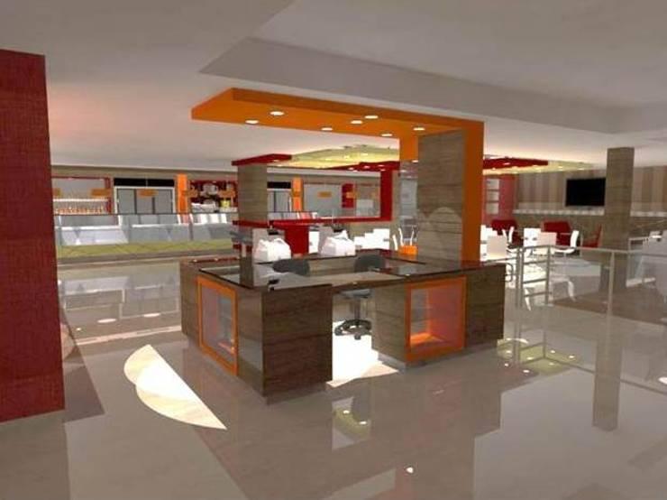 Panadería Bocono. : Restaurantes de estilo  por SCABA EQUIPAMIENTO Y ARQUITECTURA COMERCIAL , C.A.