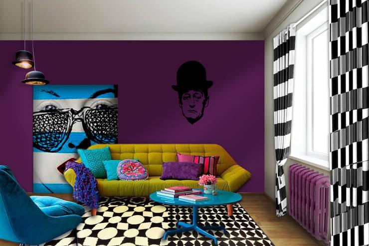 Dipingere Soggiorno : Come dipingere il soggiorno in stile moderno esempi