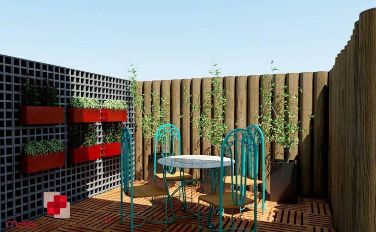 Jardines de estilo rústico por Mais Arquitetura 34