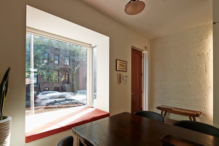 Cobble Hill Townhouse:  Windows by Sarah Jefferys Design