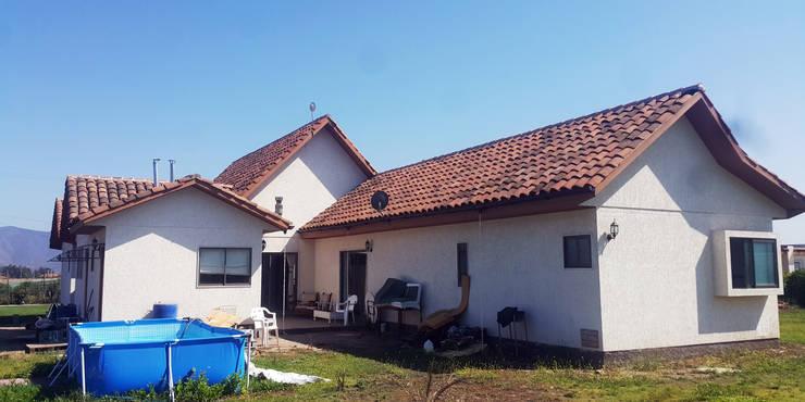 Casa Diaz, Talagante.: Casas de estilo  por Toledo estudio Arquitectos