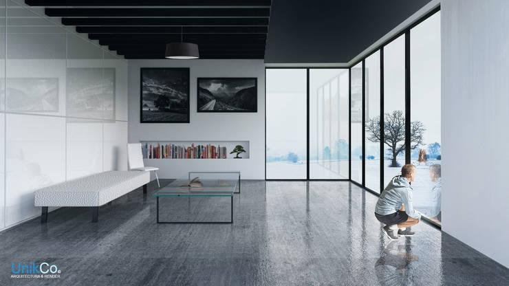 Casas minimalistas ideas y ejemplos en m xico for Casa minimalista interior