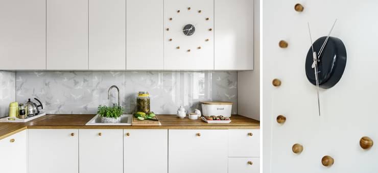 Cocinas de estilo  por Saje Architekci Joanna Morkowska-Saj