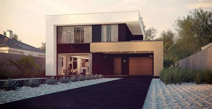 Дом в Сочи:  в . Автор – СИРИУS Архитектурное бюро